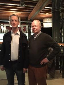 Rob Laloli en Rudolph van den Berg van Saparoea