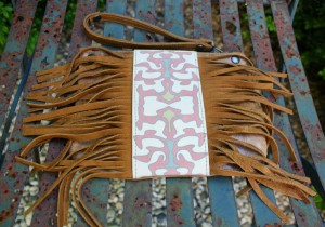 Salawaku fringe purse